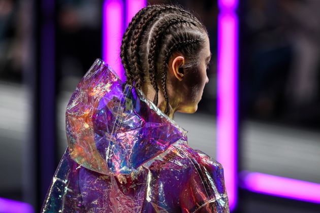 It's all too common for designers to walk white models down the runway in cornrows. This model walked...