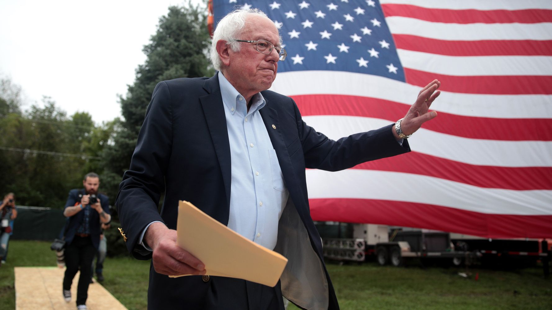 Westlake Legal Group 5d97c2f72100005000a96854 Bernie Sanders Suffered Heart Attack, Doctors Confirm