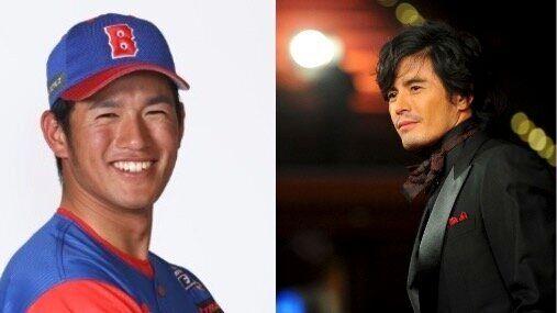 加藤選手(左)伊藤英明さん(右)。あると思います