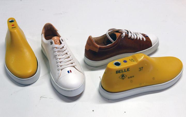 Eram a lancé une ligne de chaussures recyclables et réutilisables.