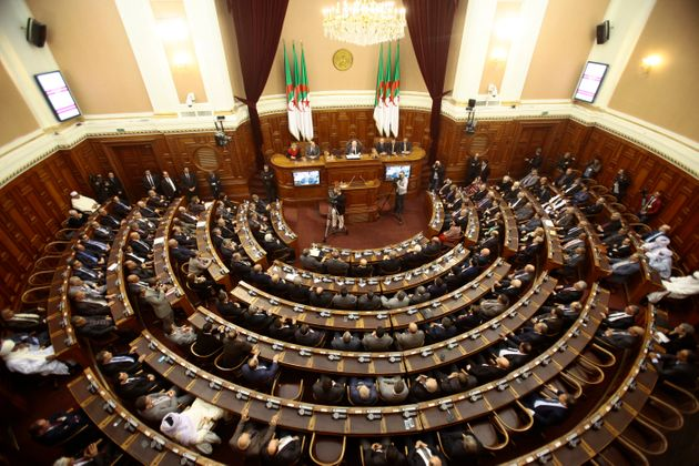 A general view of the upper parliament chamber is pictured in Algiers, Algeria February 2, 2016. Algeria's...