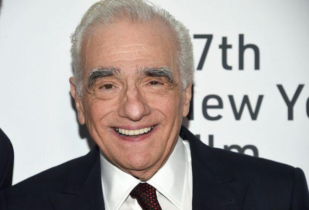 Le producteur et réalisateur Martin Scorsese lors de la première de