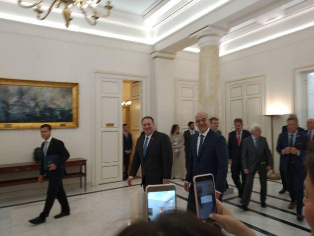 Επίσκεψη Πομπέο στην Αθήνα με μηνύματα στην