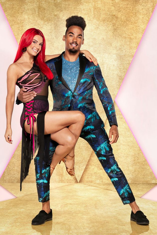 Dianne Buswell and partner Dev Griffin were involved in an accident during