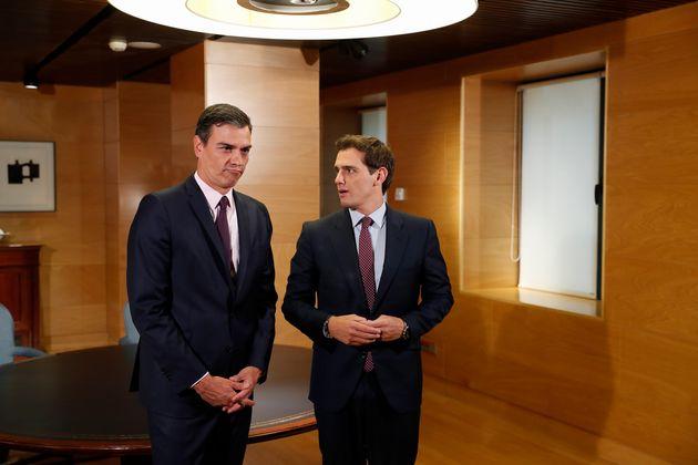 Pedro Sánchez y Albert