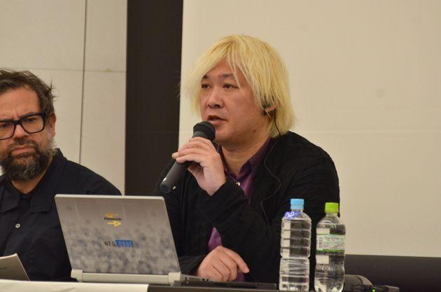 フォーラムのディスカッションに参加した津田大介氏
