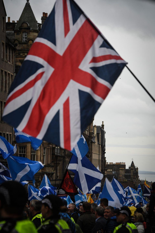 Μεγάλη διαδήλωση στο Εδιμβούργο για την ανεξαρτησία της