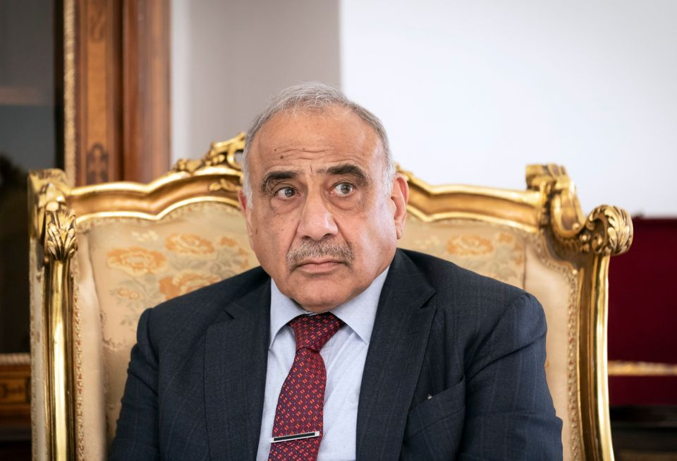 Adil Abdul-Mahdi, Prime Minister of Iraq, pictured during a meeting with German Foreign Minister Maas...