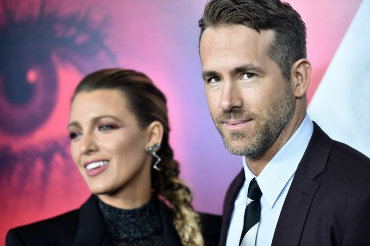 "Blake Lively and Ryan Reynolds attend the New York premier of ""A Simple Favor"" at the Museum of Modern Art on Sept. 10, 2018 in New York City."