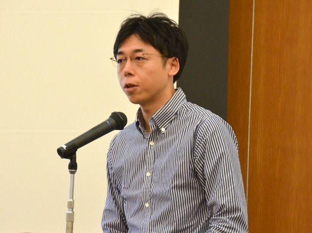 横大道聡氏=10月5日、愛知県名古屋市