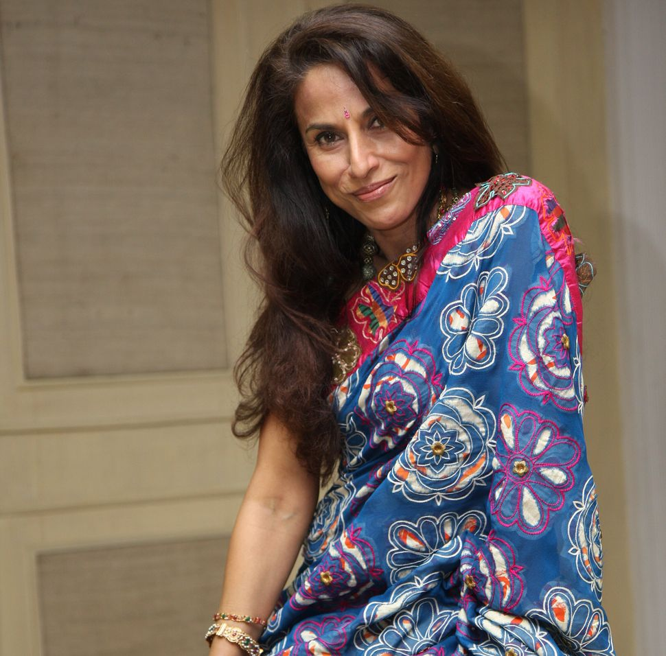 Shobhaa Dé, pictured here in 2008. 'Starry Nights', released in 1991, was her second novel. Photo by Jasjeet Plaha/Getty Images