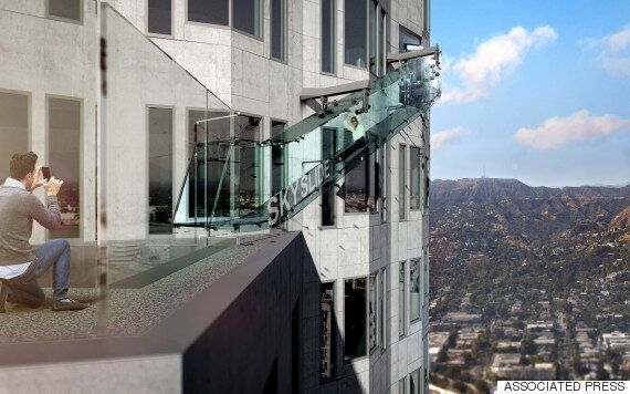 The Skyslide Is One Terrifying Way To See Los Angeles From