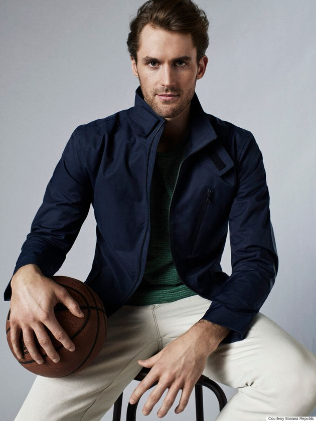 NBA All-Star Kevin Love Fronts Banana Republic's Spring 2016