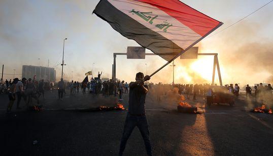 이라크 반정부 소요사태가 계속되고 있다. 벌써 100여명이