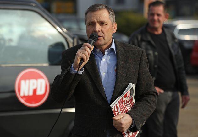 ドイツの極右政党・国家民主党のウド・パステルス氏