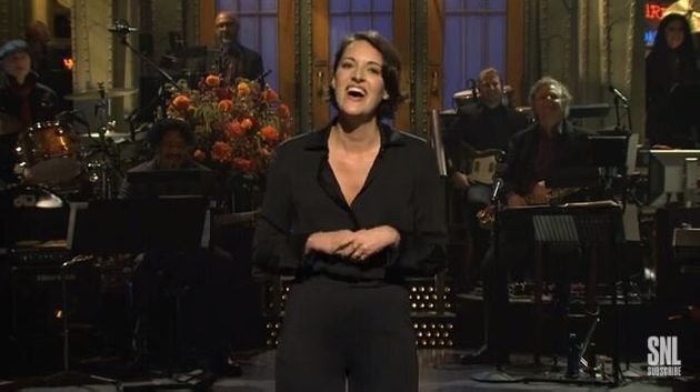 Phoebe Waller Bridge on Saturday Night