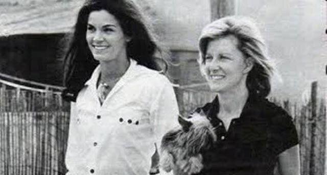 Marina Cicogna e Florinda Bolkan