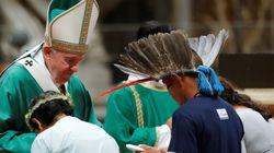 Il Papa apre il Sinodo Amazzonia.