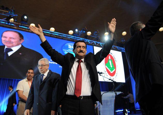Algerian Minister, president of the Tajamoua Amel El Djazair (TAJ) party and representative of president-candidate...