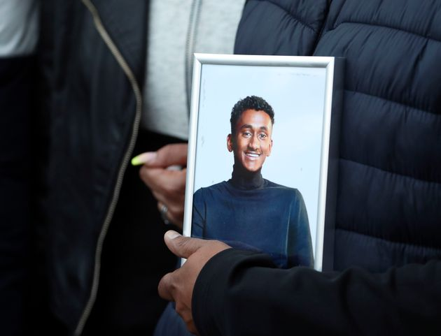 Chandima Daniel, father of Tashan Daniel, who was stabbed at Hillingdon station whilst on his way to...