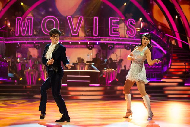 Anton and Emma performed a salsa on Saturday's