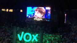 Pitos y abucheos a Ferreras, Ana Pastor y Jordi Évole en el acto de Vox en