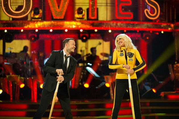 Anneka Rice and Kevin Clifton have been voted off