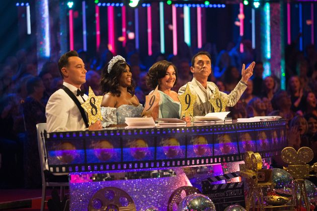 Shirley is due to return to the Strictly panel just four days after her