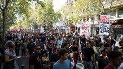 Cientos de personas se manifiestan en Madrid contra las casas de