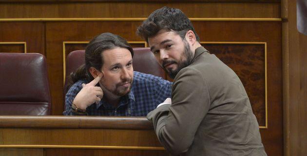 Pablo Iglesias y Gabriel