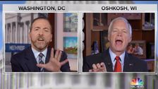 NBC, Chuck Todd Knallt Sen. Ron Johnson Für das Drücken der Fox-News -
