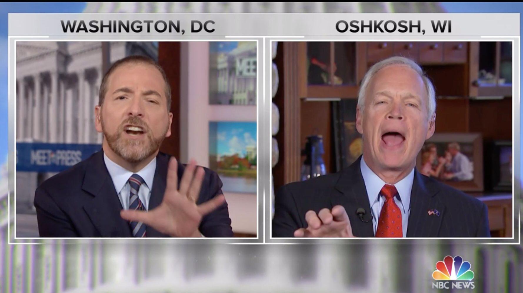 NBC's Chuck Todd Slams Sen. Ron Johnson For Pushing Fox News 'Propaganda'