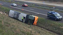 Un accident de Flixbus fait 1 mort et 17 blessés dont un en