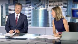 La reacción de José Ribagorda ('Informativos Telecinco') por lo que le ha dicho Ángeles Blanco en pleno