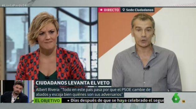 Cristina Pardo entrevista a Toni Cantó en 'Liarla