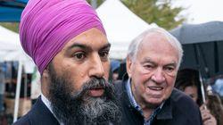 Trudeau et Singh ont courtisé les électeurs