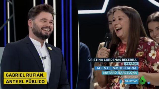 Gabriel Rufián en 'El