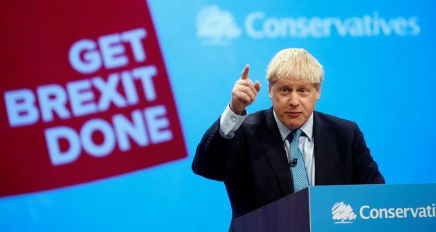 Boris Johnson, ici le 2 octobre à Manchester, devra convaincre les Européens d'accepter...