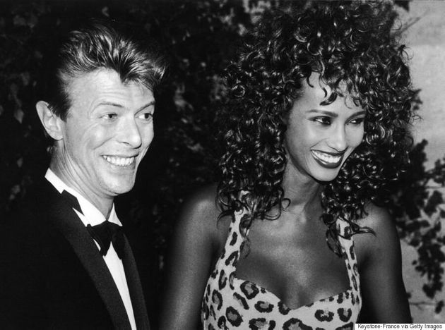 David Bowie And Iman: Proof The Duo Was The Most Stylish Couple In The '90s