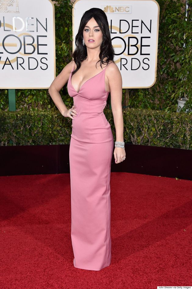 Katy Perry Rocks A Bumpit At The 2016 Golden