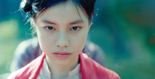 映画『第三夫人と髪飾り』。主演女優のグエン・フオン・チャー・ミー
