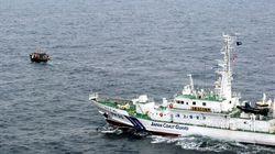 北朝鮮の漁船、水産庁の船と衝突して沈没。約20人が日本海に投げ出される