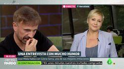 La reacción de Gloria Serra al pillar a José Mota imitándola en