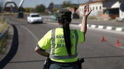 La Guardia Civil intercepta un patinete eléctrico circulando por una