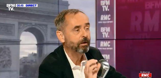 Robert Ménard sur le plateau de BFMTV lundi 7