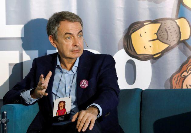 El expresidente del Gobierno, Jose Luis Rodriguez