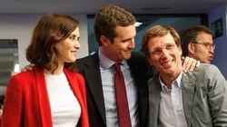Casado pide al alcalde Martínez Almeida que cierre la lista del PP por