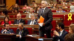 Fracasa la moción de censura de Ciudadanos contra Quim Torra en el
