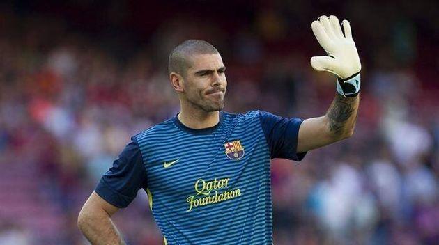 El exportero del Barça Víctor