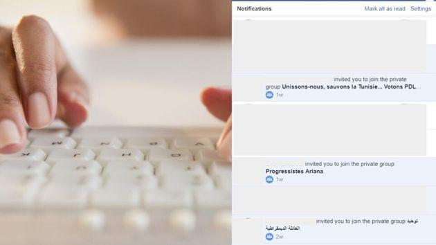 Les groupes Facebook se multiplient suite au résultat du scrutin du premier tour des élections...